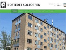 Tablet Preview of bostedetsoltoppen.dk